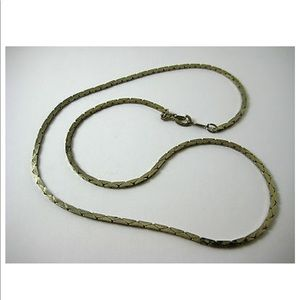 14k Gold necklace 18 5/8 inches